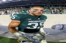 Michigan State's Joe Bachie, Michigan's Ben Bredeson: AP preseason All-Americans