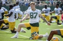 Packers TE Jace Sternberger began road back from concussion protocol Tuesday