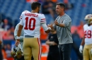 49ers' Kyle Shanahan not sensing any confidence issues with Jimmy Garoppolo