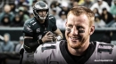 Eagles QB Carson Wentz once again makes it clear he'll be ready for Week 1