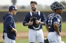 Padres notes: Mejia not left out; Stammen's slider returns for a night
