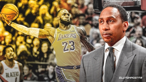 Stephen A. Smith thinks Lakers' LeBron James is going to be a 'monster' next season