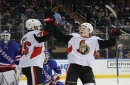 Colin White Signed by the Ottawa Senators