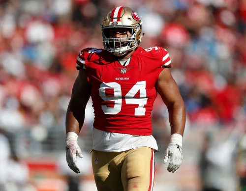 49ers coaches seeing a difference in Solomon Thomas so far in preseason