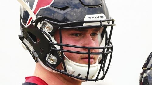Texans fear offensive lineman David Steinmetz broke his ankle