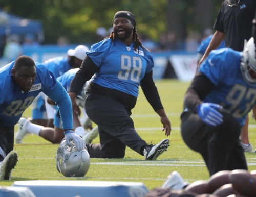 Detroit Lions sign Damon Harrison to 1-year contract extension