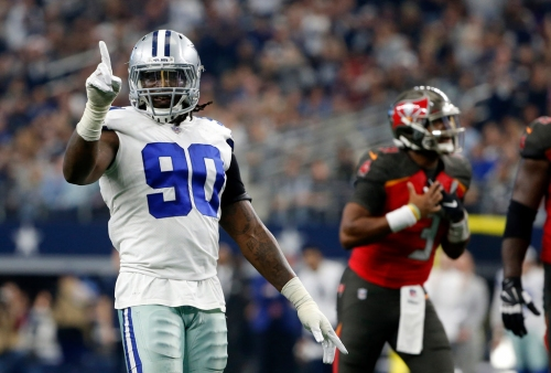 'You only need one arm to beat two': Cowboys DE DeMarcus Lawrence says he's on track for Week 1 return