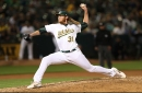 'There's a little bit of extra sizzle': A.J. Puk has wild debut, Liam Hendriks records five-out save in Athletics win