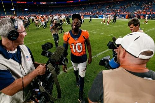 Emmanuel Sanders is key to the Broncos' offense