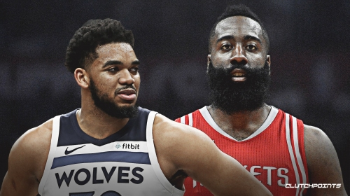 Timberwolves to build around Karl-Anthony Towns like Rockets have built around James Harden
