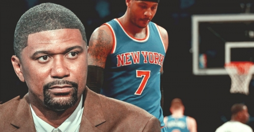 Jalen Rose says Carmelo Anthony is being blackballed in the NBA