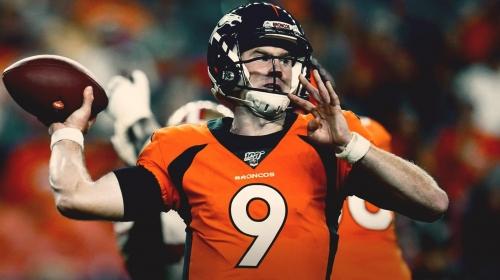 Broncos rookie QB Drew Lock training on virtual reality while thumb heals