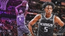 Kings' De'Aaron Fox says eating 'literally feels like a job to me' since he burns calories so quickly