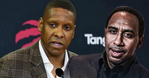Stephen A. Smith says Masai Ujiri made a mistake by staying with Raptors