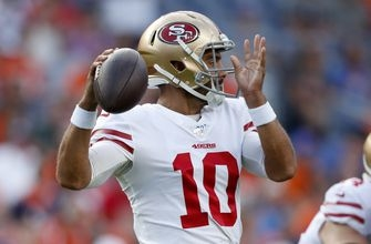 Garappolo shaky in 49ers' 24-15 win over Broncos
