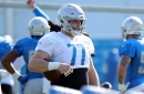 Detroit Lions' Frank Ragnow leaves game vs. Bills with leg injury