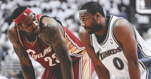 Former Wizards star Gilbert Arenas shot over 2,000 free throws in workout after LeBron James' message in 2006 playoffs