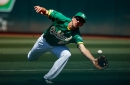 Athletics' Piscotty undergoes MRI for sprained right ankle