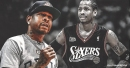 Video: Allen Iverson gives emotional speech to Sixers fans in Philadelphia