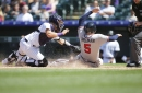 Late inning magic not enough as Braves fall to Rockies, 3-1