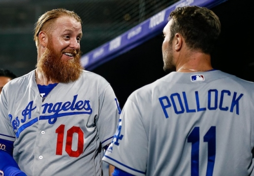 A.J. Pollock, Justin Turner Not Concerned By Dodgers' Recent Offensive Skid