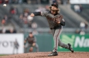 Arizona Diamondbacks sweep Giants behind Mike Leake's first win since trade