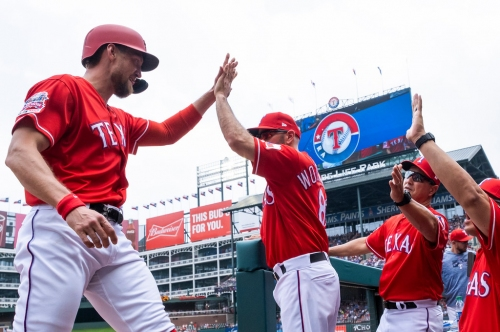 Will Nomar Mazara and Hunter Pence be on the Rangers' 25-man roster next season?
