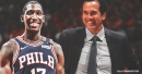 Josh Richardson met with Erik Spoelstra after trade to Sixers, Spoelstra expressed appreciation for what Richardson did with Heat