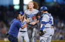 Dodgers News: Dustin May 'Kind Of Upset' He Didn't Catch Line Drive Before Hitting Head, Vows To Continue Pitching Without Reservations