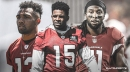 Michael Crabtree listed as a starter for the Cardinals along with Larry Fitzgerald, Christian Kirk