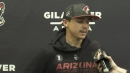 Clayton Keller discusses his extension with Coyotes