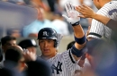 Yankees' bullpen ices Rangers, Aaron Judge homers again in win