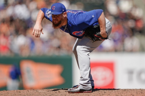 Cubs roster move: Craig Kimbrel to the injured list, David Bote recalled
