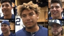 Padres rookies discuss what they've learned; advice, perks of big leagues