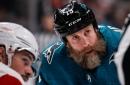 Joe Thornton officially returns to San Jose Sharks