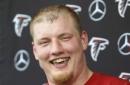 Falcons OT Gono (back) ruled out for opener vs Vikings