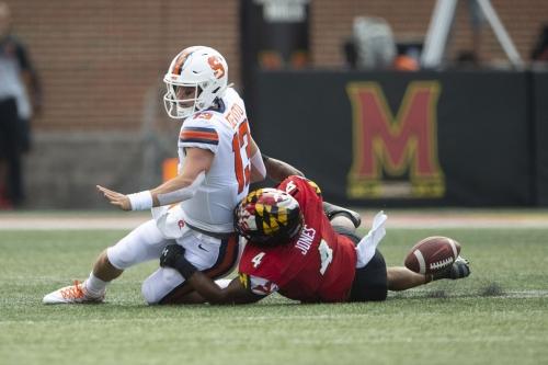 Second half thread: Maryland 42, Syracuse 13