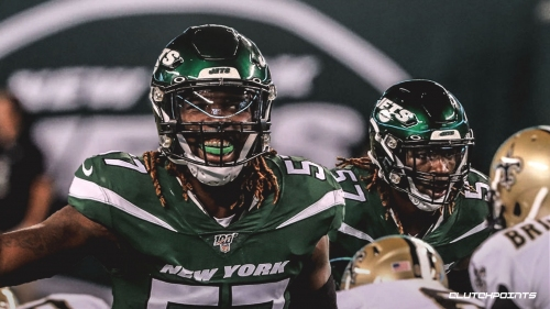 CJ Mosley scores pick-6 in first game with Jets