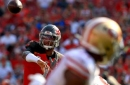 49ers captalize on Jameis Winston's two pick-sixes to beat the Buccaneers 31-17