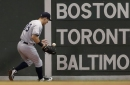 New York Yankees' Mike Tauchman leaves Sunday night's game vs. Red Sox due to injury