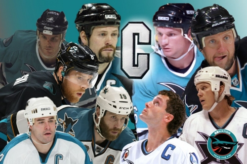 A look back at the Sharks' former captains