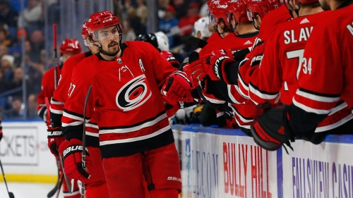 Hurricanes, Ducks 'intensely' discussing Justin Faulk trade