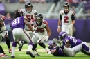 Falcons vs Vikings: 3 Falcons up, 3 Falcons down in week one loss to Vikings