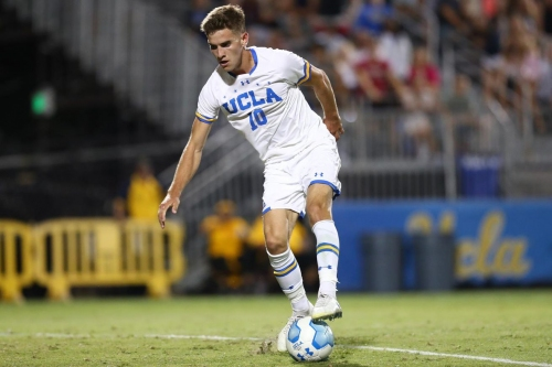 After Upsetting #3 Maryland, 3-2, on Friday, UCLA Men's Soccer Hosts #6 Georgetown
