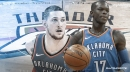 Mike Muscala excited to play with Dennis Schroder again, calls Thunder guard his 'closest friend' in the NBA