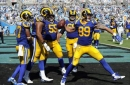 Rams' McVay pleased by new faces up front, familiar result