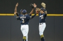 Trent Grisham gets 5 hits as Brewers beat Marlins, 8-3