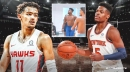 Video: Knicks' Dennis Smith Jr., Hawks' Trae Young try to impersonate each other