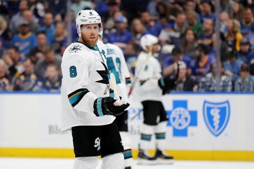 Joe Pavelski San Jose Sharks Comparison