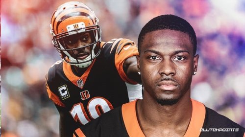 Bengals wide receiver A.J. Green is finally out of walking boot